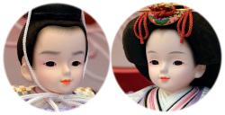 プリンセス雛人形,ひな人形,親王,山科紫晃