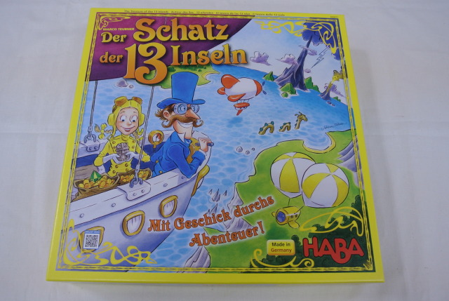 13諸島の秘宝,ハバ,ボードゲーム,ドイツ