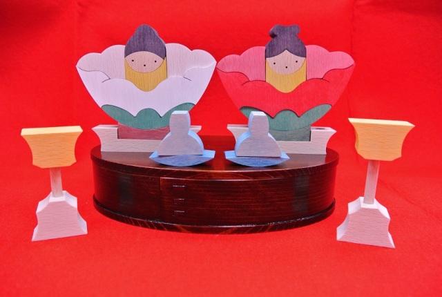楕円椿雛,小黒三郎,U-PLAN,組み木