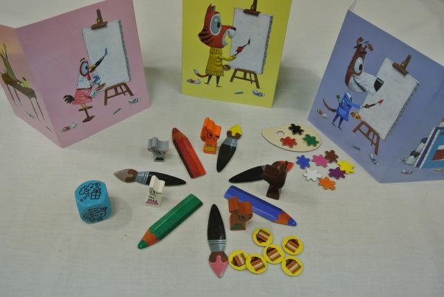 画家ネズミのクレックス,ゲーム,ハバ,HABA,ドイツ,色