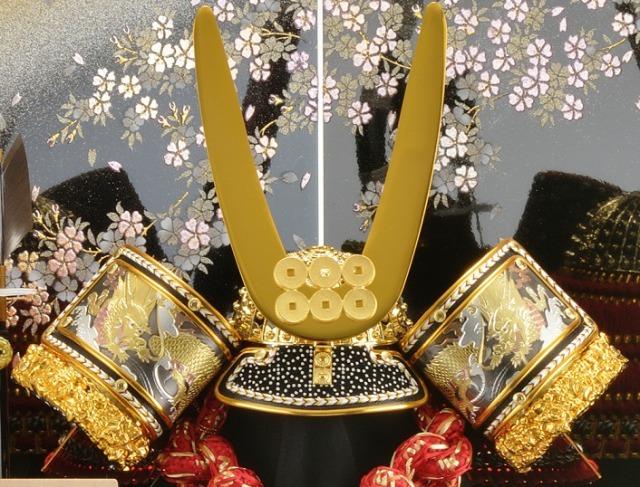 真田昌幸,兜,収納飾り,五月人形