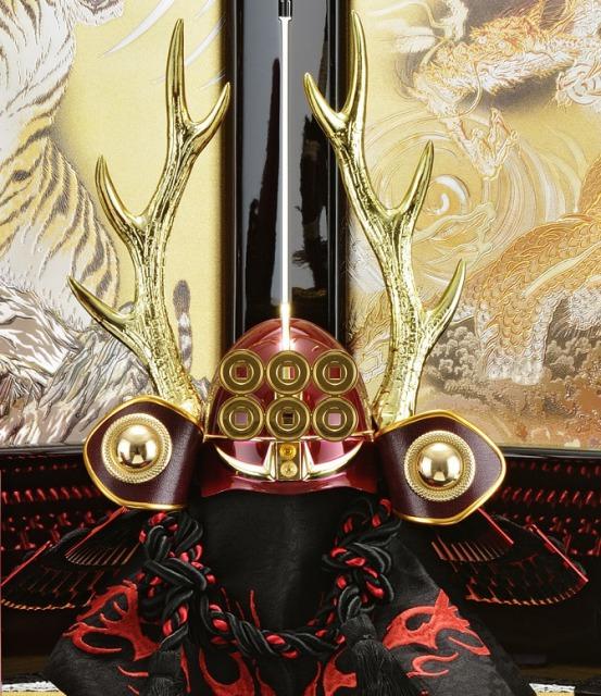 真田幸村,兜,収納飾り,五月人形